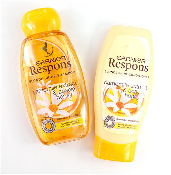 Garnier Respons Blonde Shine Recension