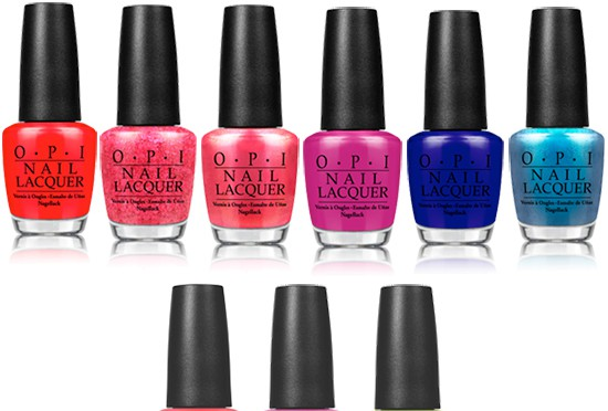 Brights by OPI 2015 Collection