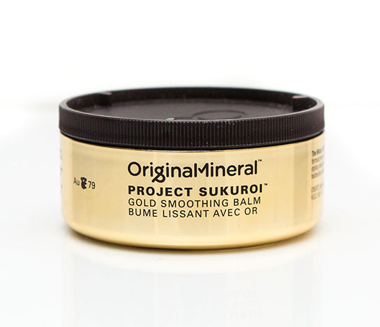 Original Mineral Project Sukuroi Gold Smoothing Balm