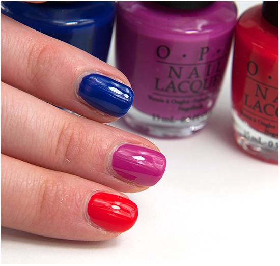 OPI-My-Car-Has-Navy-gation-The-berry-thought-Of-you-I-Stop-For-Red