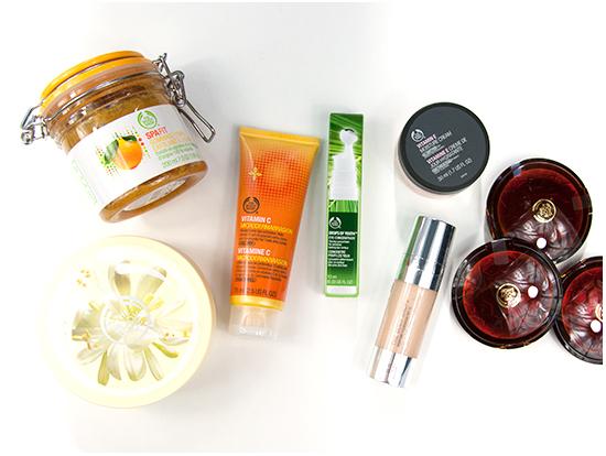 The Body Shop Skönhetsmåsten