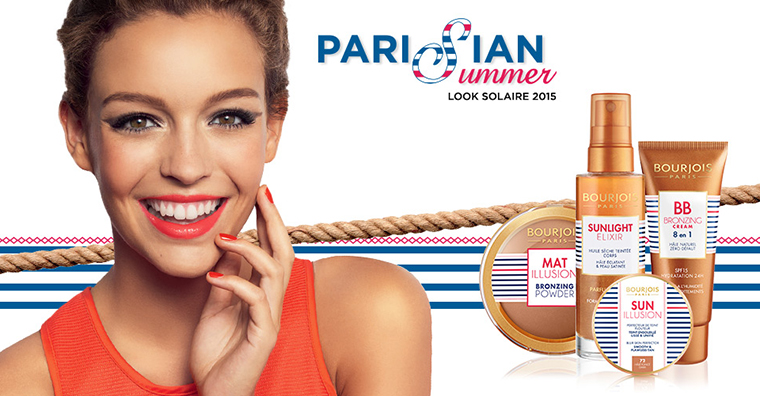 Bourjois Parisian Summer Look 2015