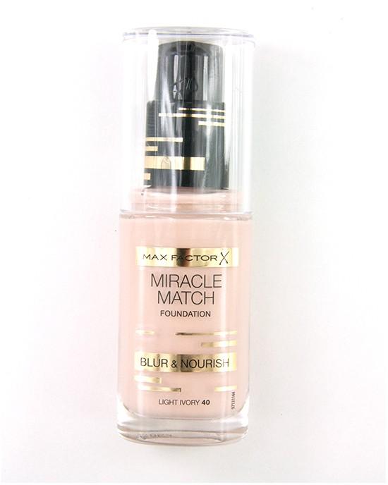 Max Factor Miracle Match Blur Nourish Light Ivory 40