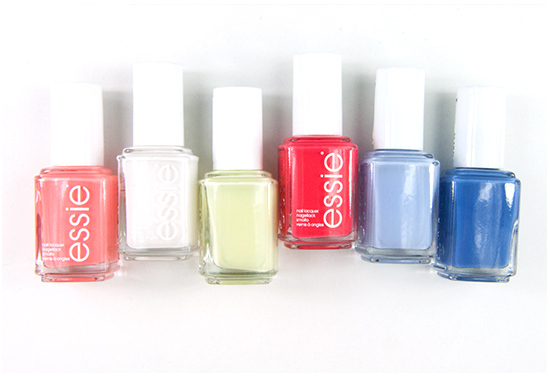 essie Summer 2015 Collection Swatches & Bilder