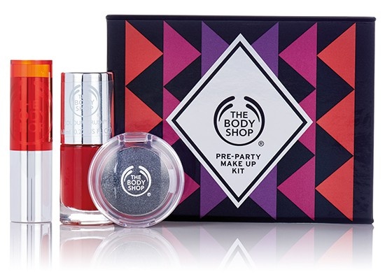 Get the Party Look Kit The Body Shop Winter 2015