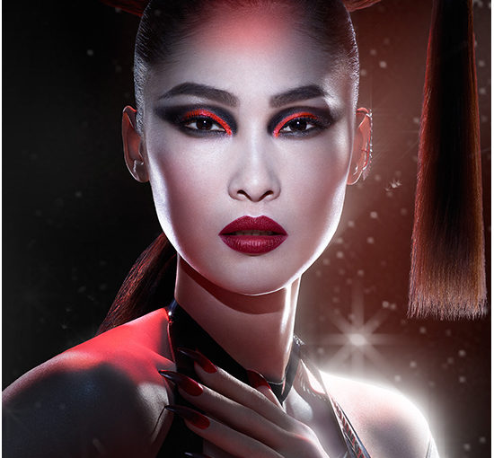 Max Factor x Star Wars Dark Apprentice Look