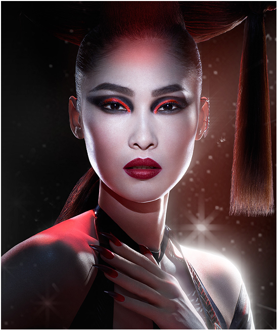 Max Factor Dark Apprentice Star Wars Look