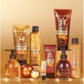 Yves Rocher Candied Orange & Almond, Candied Orange & Cinnamon och Spicy Vanilla
