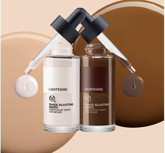 The Body Shop lanserar Shade Adjusting Drops