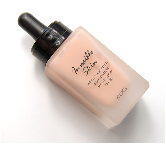 KICKS Pink Porcelain Invisible Skin Foundation
