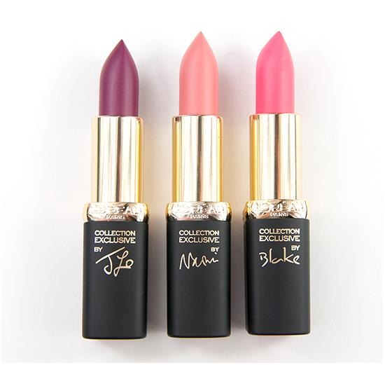 LOreal Delicate Rose Lipsticks