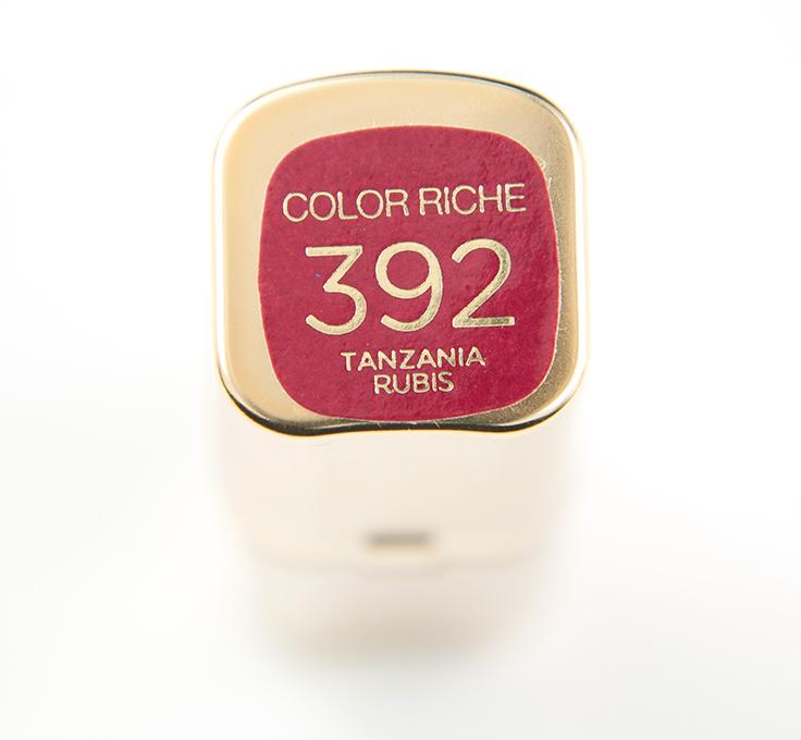 Loreal-Tanzania-Rubis-392-Color-Riche-Lipstick001