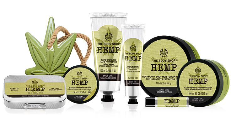 The Body Shop Hemp Nyheter & Limited edition