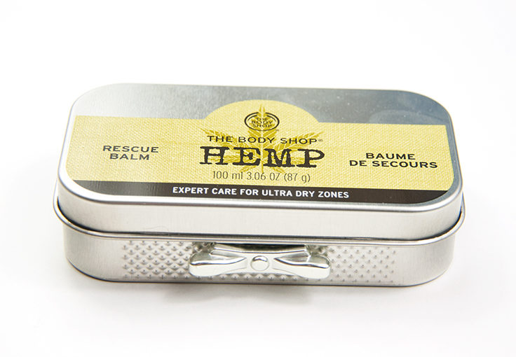 The Body Shop Hemp Rescue Balm & Hand Protector Limited Edition