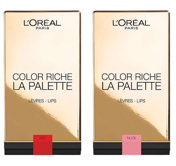 L'Oréal Paris Color Riche Lip Palette Rouge & Nude