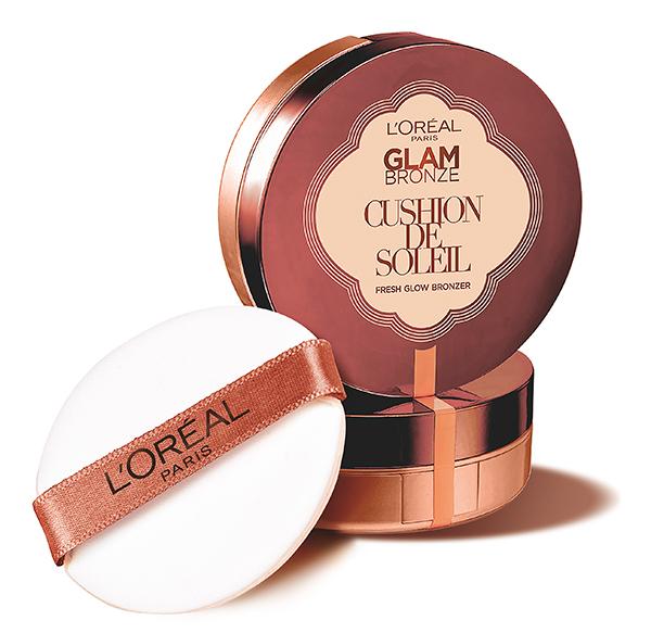Nyhet! L'Oréal Paris Glam Bronze Cushion de Soleil