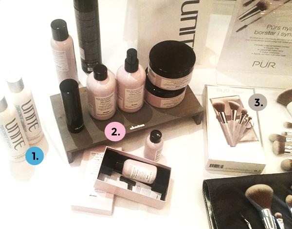 Bloggtraff-Kraft-Cosmetics-Goteborg-Unite-Davines-Pur-Beauty