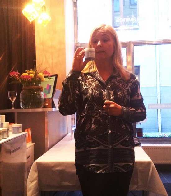 Bloggtraff Petra Kraft Cosmetics Goteborg