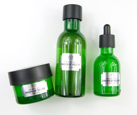 The Body Shop Drops Of Youth Essence Lotion Concentrate Cream
