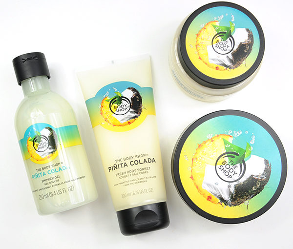 The Body Shop Piñita Colada Recension, Swatches, Bilder