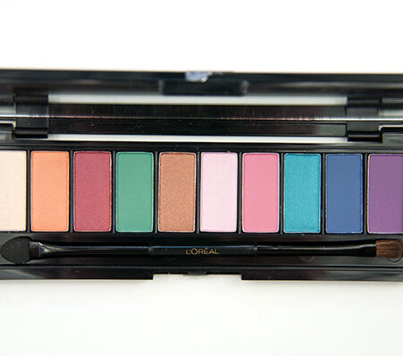 Loreal-Paris-La-Palette-Glam-Eyeshadow-Palette-Swatches