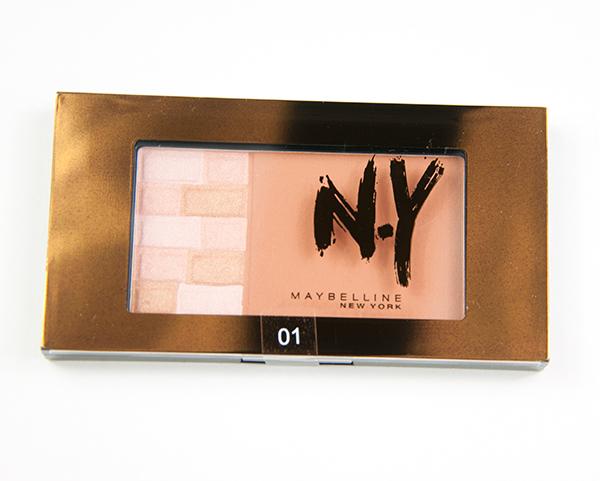Maybelline New York Bricks Bronzer Swatches, Bilder
