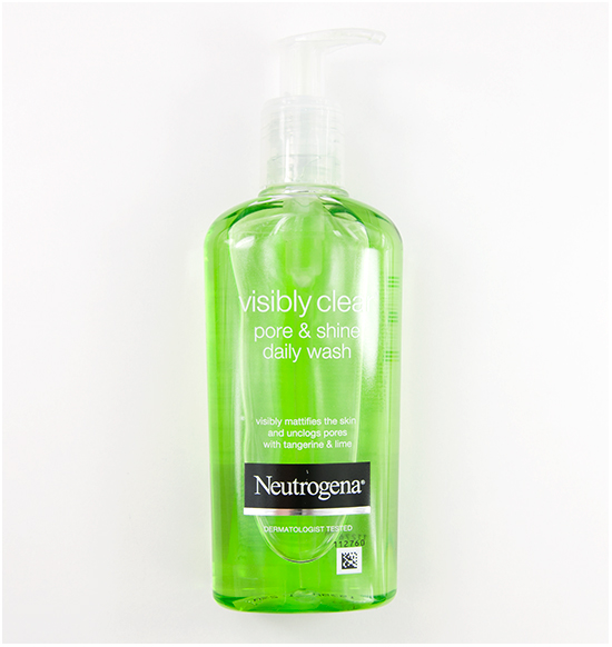 Neutrogena Visibly Clear pore shine daily wash