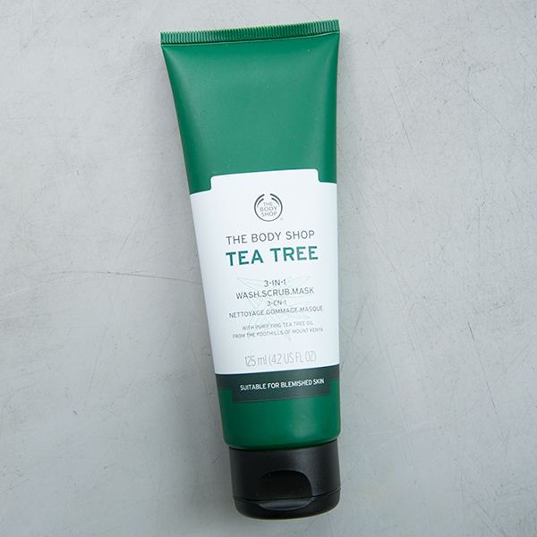 The Body Shop 3 in 1Tea Tree Wash Scrub Mask