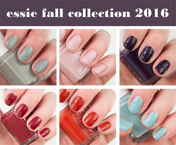 essie Fall 2016 Kimono-Over Collection Swatches & Bilder