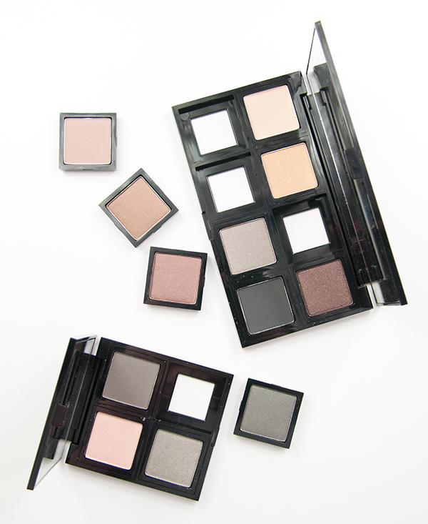 The Body Shop Down To Earth Eyeshadows and palettes