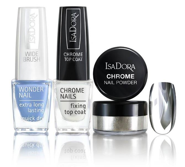 IsaDora Chrome Nails Collection 2017