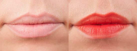 Bourjois Selfpeach Rouge Laque Lips Swatches