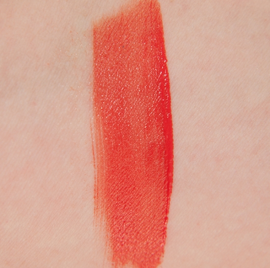 Bourjois selfpeach swatches rouge lacque