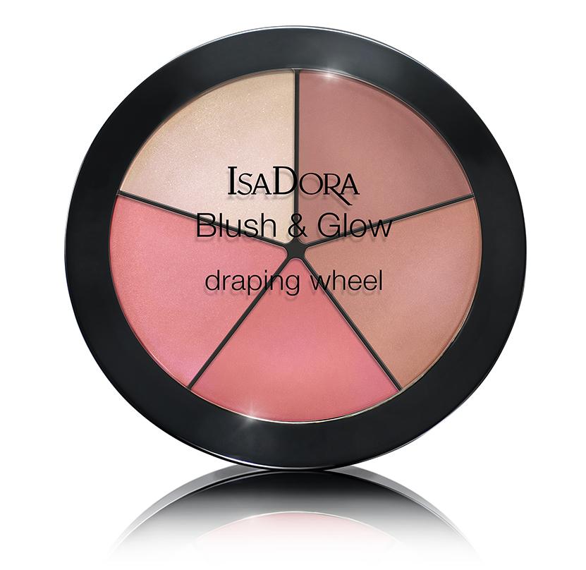 IsaDora Blush Glow Draping Wheel 55 Peachy Rose Pop
