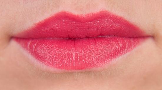 Bourjois Majes Pink Rouge Laque Lip Swatches