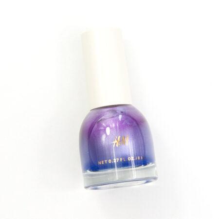 H&M Argent Lilac Nail Colour