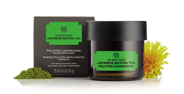 The Body Shop Japanese Matcha Tea Pollution Clearing Mask001