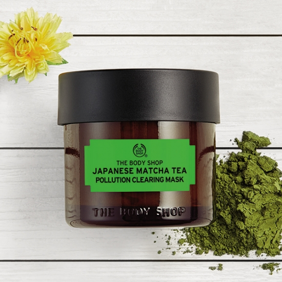 The Body Shop Japanese Matcha Tea Pollution Clearing Mask003