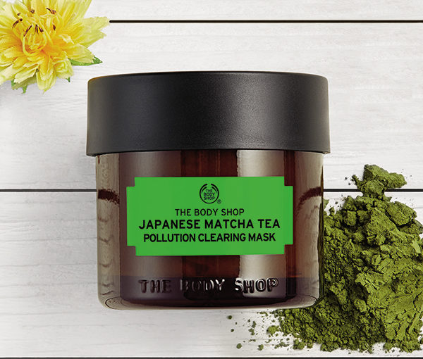 Nyhet! The Body Shop Japanese Matcha Tea Pollution Clearing Mask