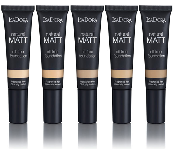 Nyhet! IsaDora Natural Matt Foundation