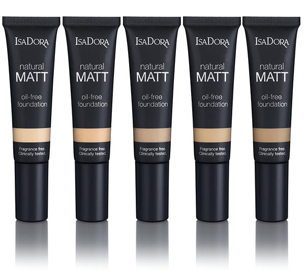 IsaDora Natural Matt Foundation