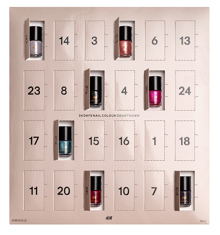 HM 24 Days Nail Colour Countdown