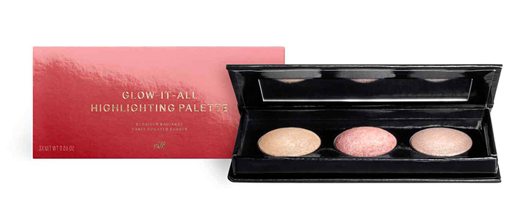 HM BEAUTY GLOW IT ALL HIGHLIGHTING PALETTE