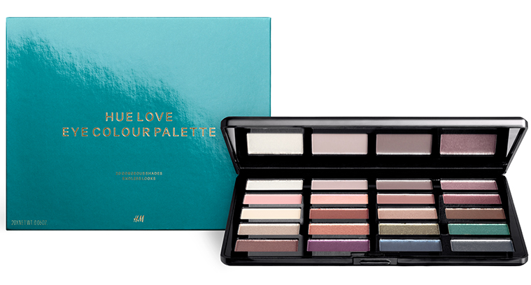 Hue Love Eye Colour Palette