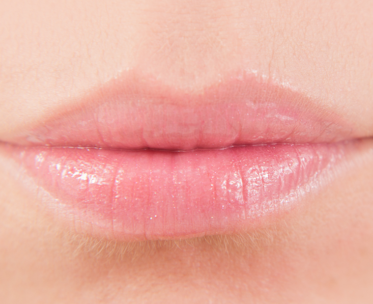 Rhubarb Crush H&M Beauty Rhubarb Crush Pure Lustre Gloss Lip Swatches