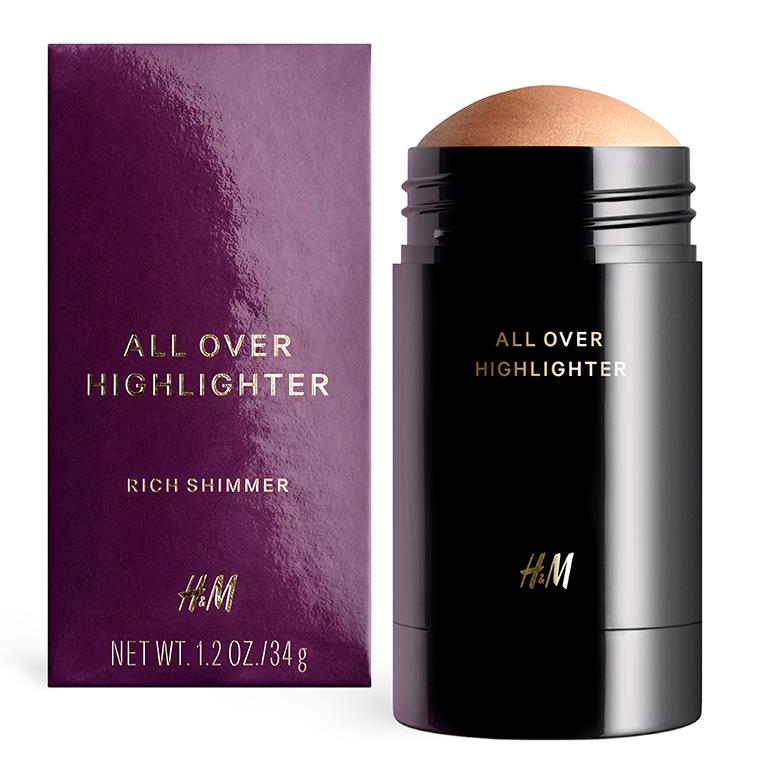 HM beauty Rich Shimmer All Over Highlighter