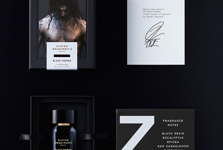 Nyhet! Zlatan Ibrahimovic Black Nomad Eau de Toilette Limited Edition