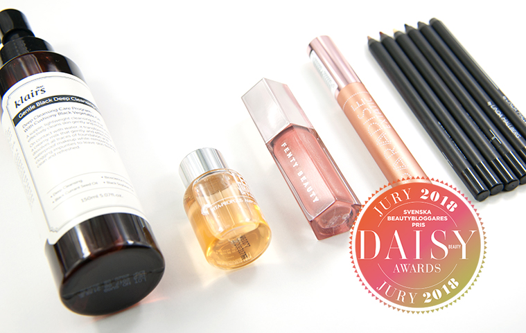 Daisy Beauty Awards 2018 Årets Läsarfavorit