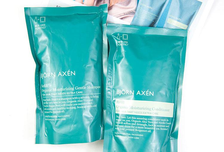 Björn Axén Refill Organic Moisturizing Gentle Shampoo & Conditioner