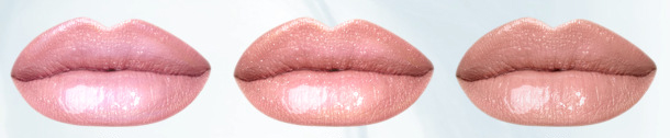 IsaDora Glossy Lip Treat 50 Clear Sorbet 51 Pearly Nougat 52 Sweet Praline